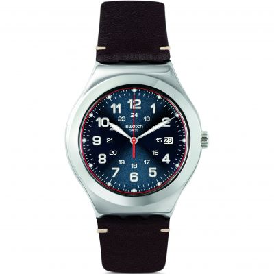 Swatch Happy Joe Rugged Happy Joe Flash Herrenuhr in Braun YWS440