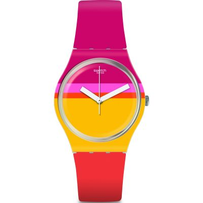 Swatch Roug'Heure Watch GW198