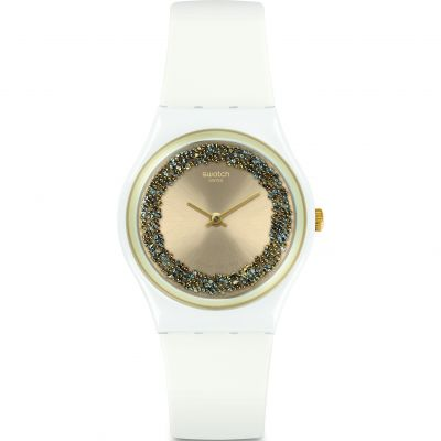 Swatch Sparklelight Dameshorloge Wit GW199