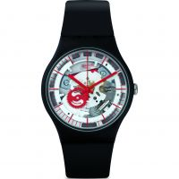 Swatch Siliblack Watch SUOB153