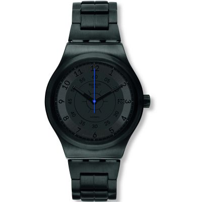 Swatch Sistem 51 Sistem Dark Herrenuhr in Schwarz YIB401G