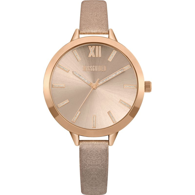 Ladies Missguided Watch MG005CRG