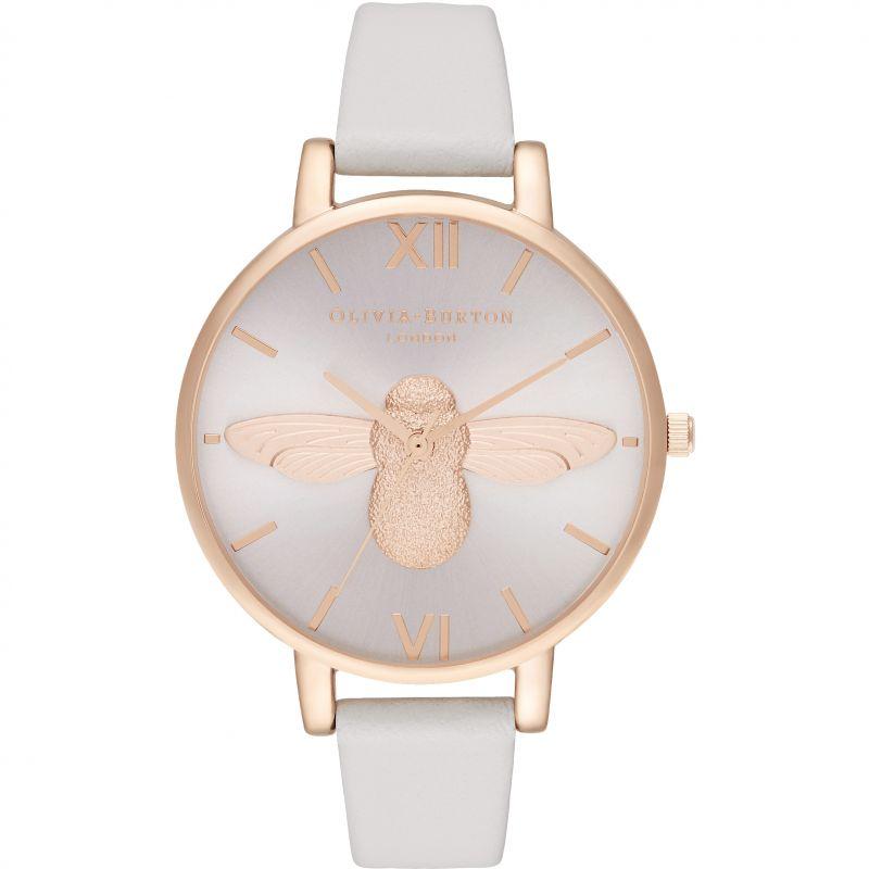 3D Bee Big Dial Blush Sunray Blush & Rg Watch