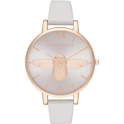 3D Bee Big Dial Blush Sunray Blush & Rg Watch