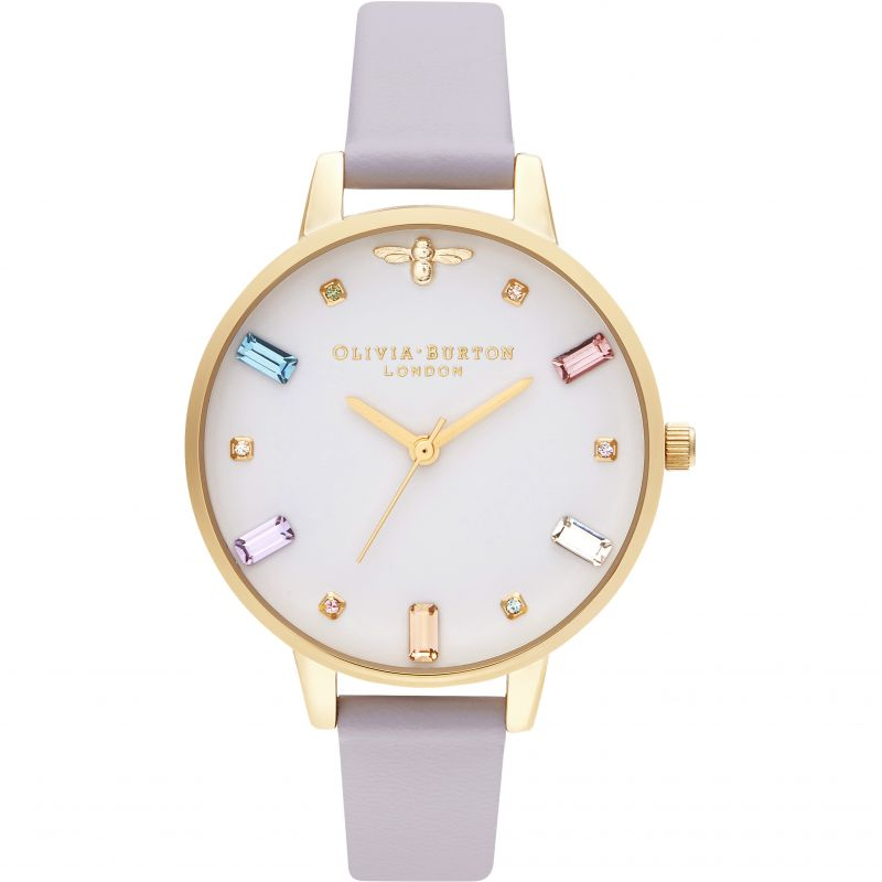 Rainbow Bee Demi Parma Violet & Gold Watch