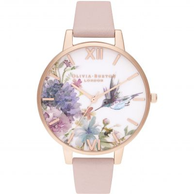 Painterly Prints Dusty Pink & Rg Watch