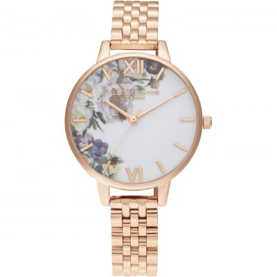 Enchanted Garden Demi Rg Bracelet Watch