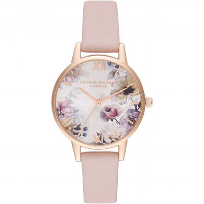 Sunlight Florals Midi Dusty Pink, Blush Sunray & Rg Watch