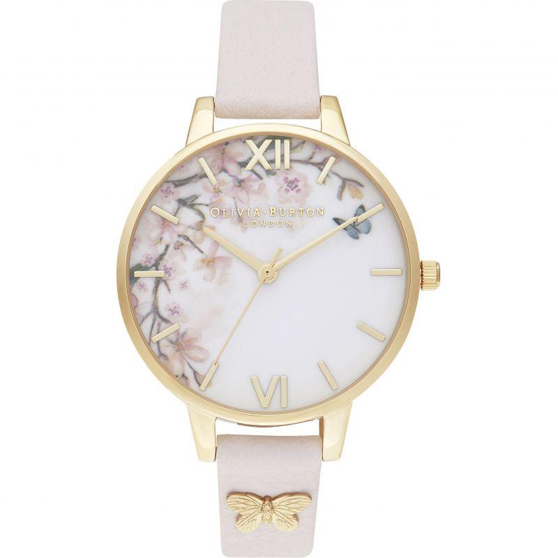 Pretty Blossom Demi Blossom & Gold Watch