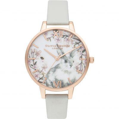 Pretty Blossom Demi Vegan Grey & Rg Watch