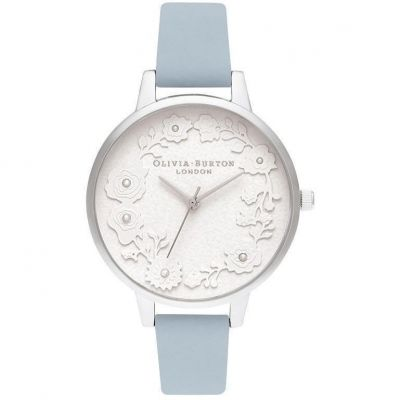 Artisan Dial Pearl Paper Effect Chalk Blue & Silver Watch
