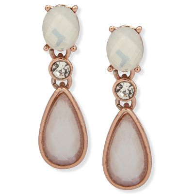 Anne Klein Dames Post Drop Earrings Basismetaal 60510696-I15