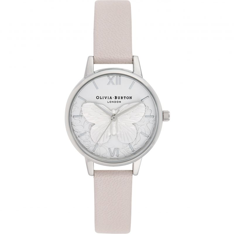 Ladies Olivia Burton Lace Detail Watch OB16MV97