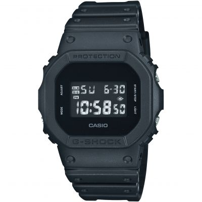 Mens Casio G-Shock Alarm Chronograph Watch DW-5600BB-1ER