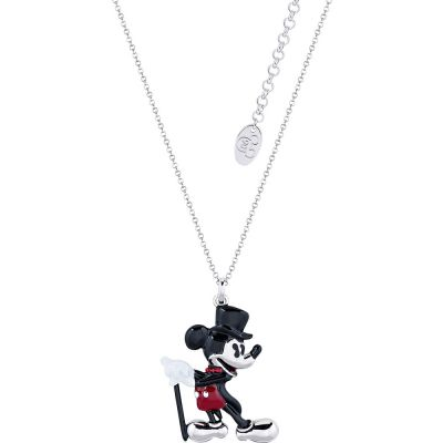 Disney Couture Mickey Mouse Anniversary Showman Necklace DSN499