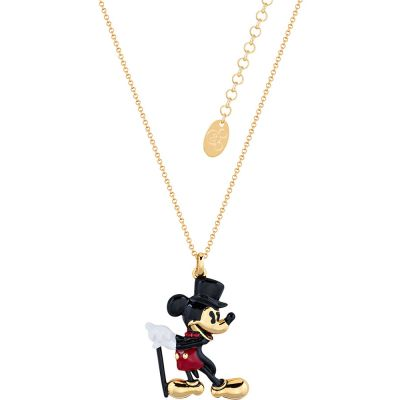 Disney Couture Mickey Mouse Anniversary Showman Necklace Dyn499