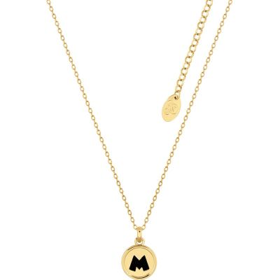 Disney Couture Mickey Mouse Anniversary Medallion Necklace DYN502