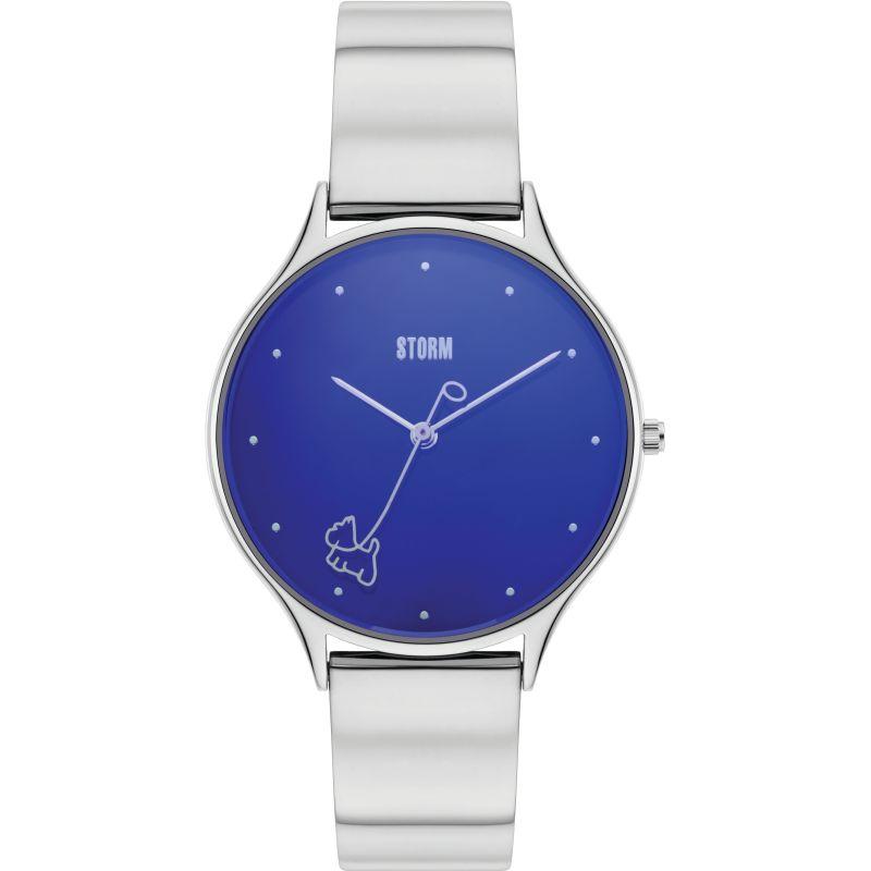Storm K-Nine Lazer Blue Watch