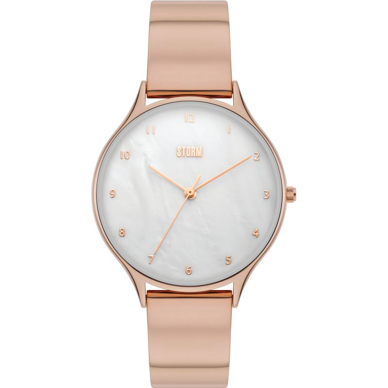 Storm Alana Curvex Rose Gold Watch