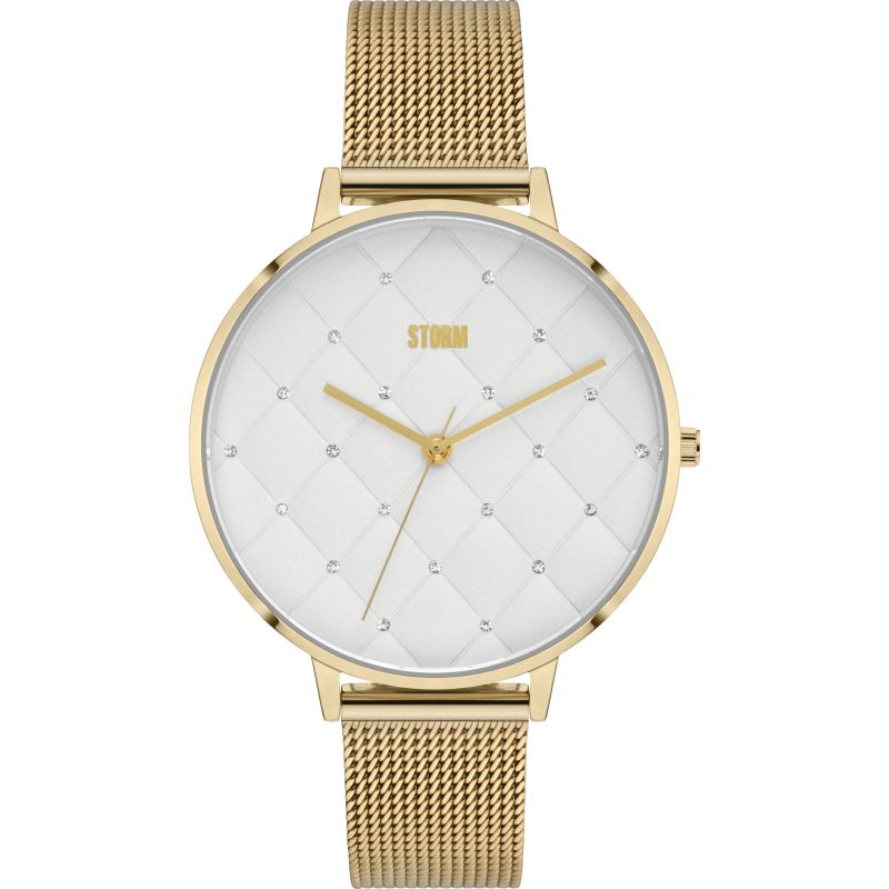Storm Alura Gold Watch