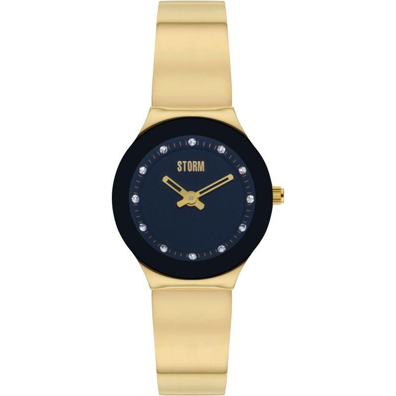 Storm Arin Curvex Gold-Black Watch