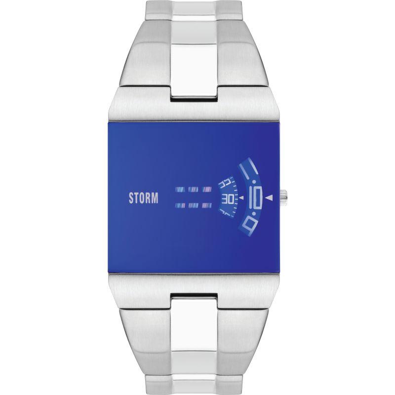 Storm New Remi Sq Lazer Blue Watch