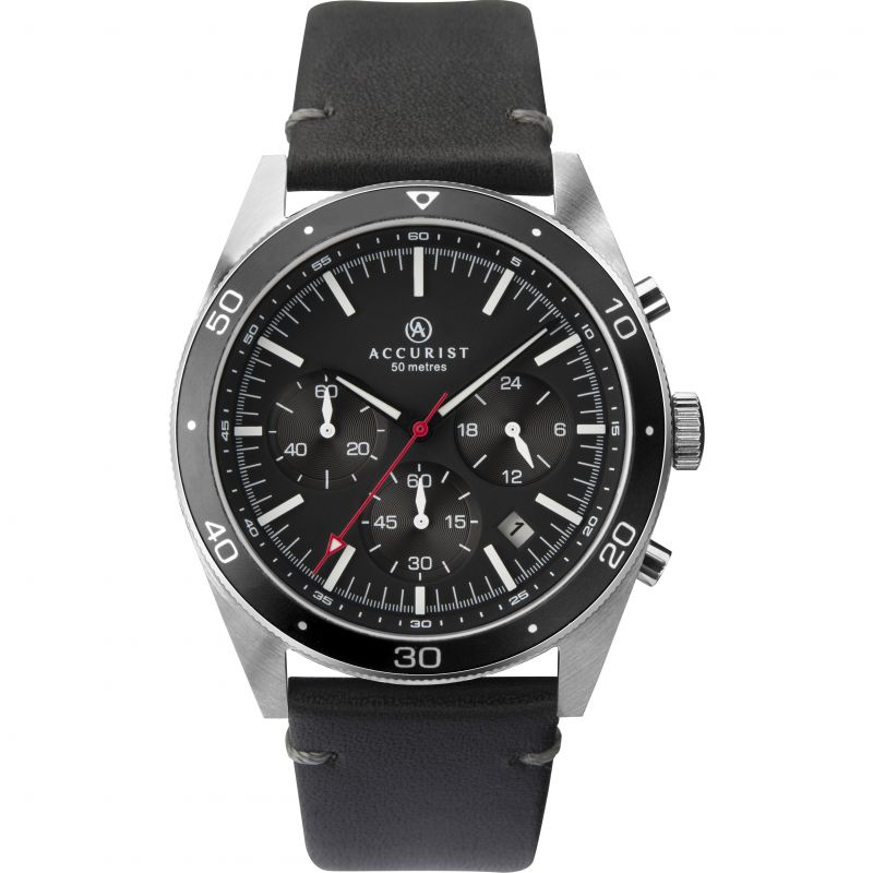 Accurist Gents Chronograph Strap Watch