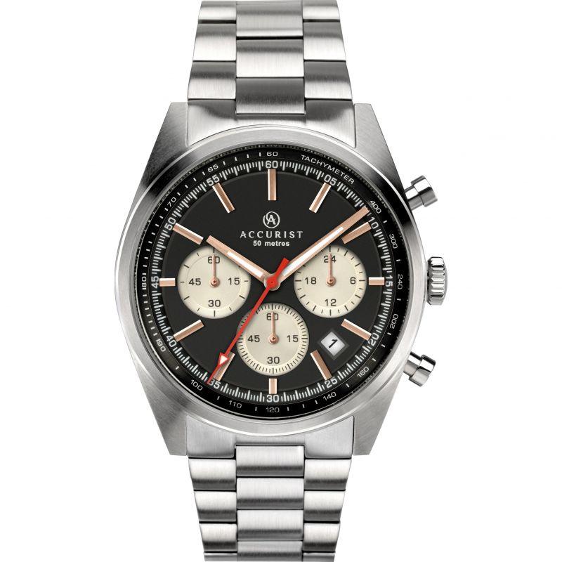 Accurist Gents Chronograph Bracelet Watch