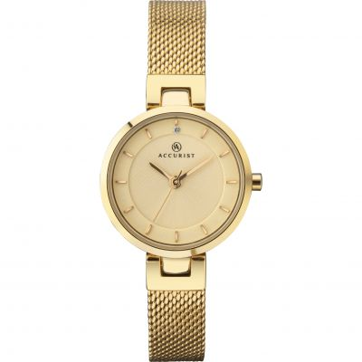 Accurist Ladies Mesh Bracelet Watch 8251