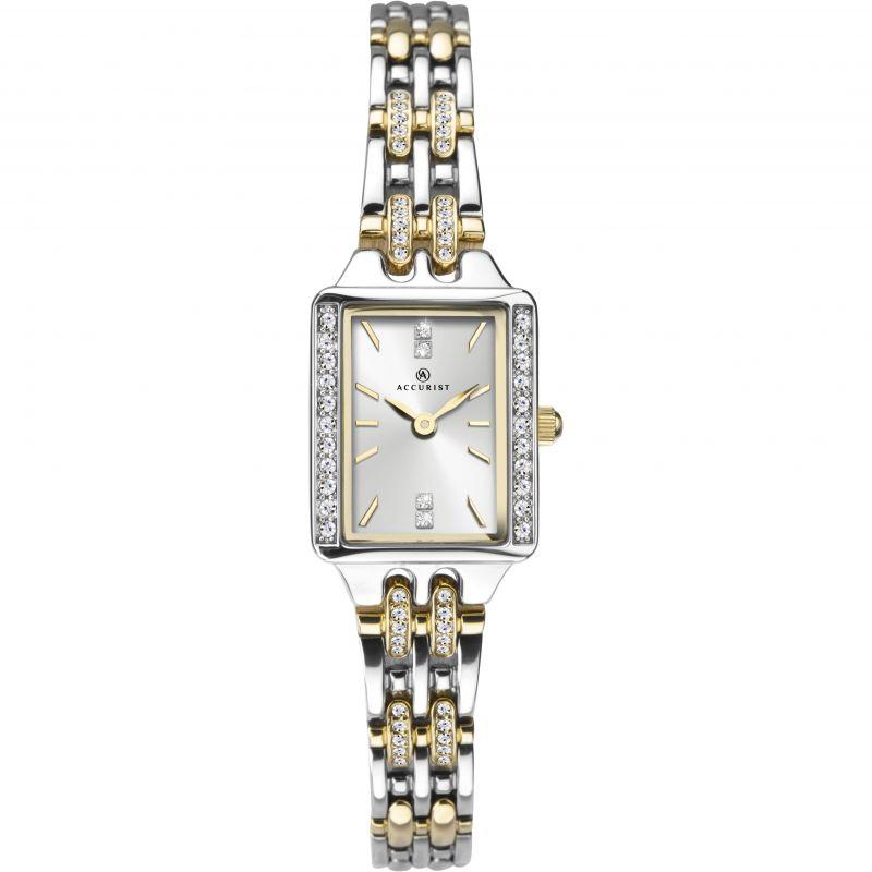 Accurist Ladies Stone Set Bracelet Watch