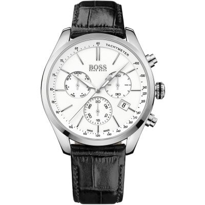 Hugo Boss Herrenuhr in Schwarz 1513394