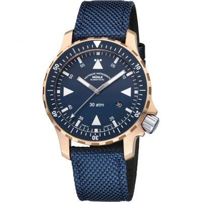 Mens Muhle Glashutte Yacht-Timer Bronze Watch M1-41-72-NB