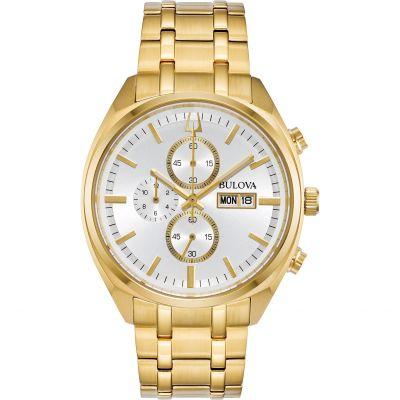 Bulova Surveyor Herenchronograaf Goud 97C109