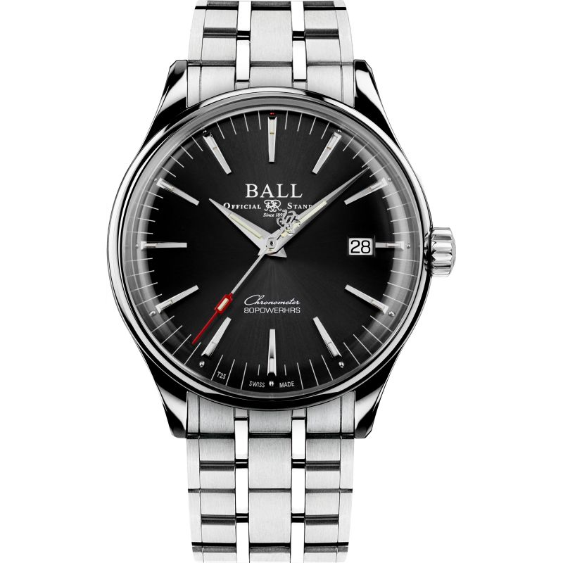 Ball Trainmaster Manufacture 80 Hours Watch