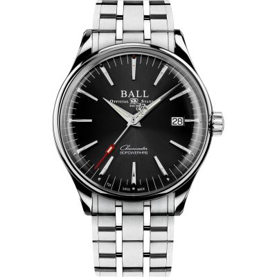 Ball Trainmaster Manufacture 80 Hours Watch NM3280D-S1CJ-BK
