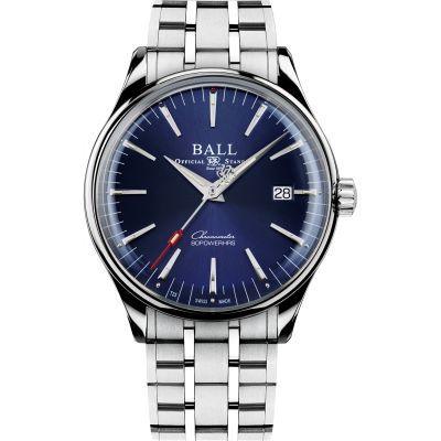 Ball Trainmaster Manufacture 80 Hours Watch NM3280D-S1CJ-BE
