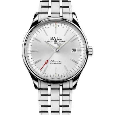 Ball Trainmaster Manufacture 80 Hours Watch NM3280D-S1CJ-SL