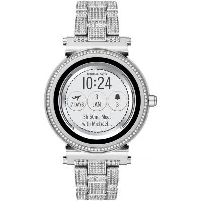 Ladies Michael Kors Access Bluetooth WearOS Sofie Smartwatch MKT5024