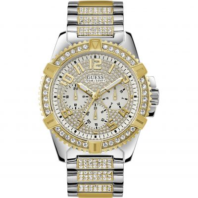 Guess Herenhorloge Tweetonig W0799G4