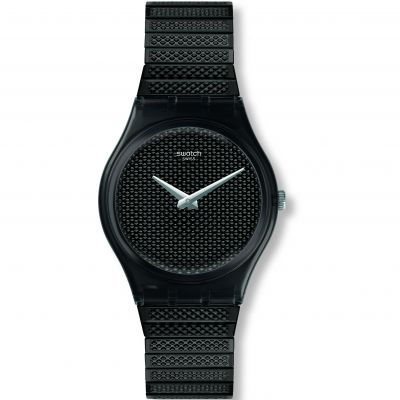 Swatch Original Gent Noirette L Damenuhr in Schwarz GB313A