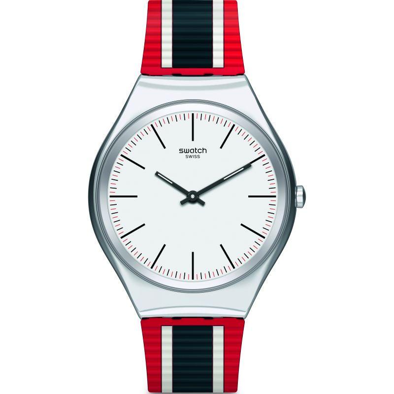Mens Swatch Skinflag Watch