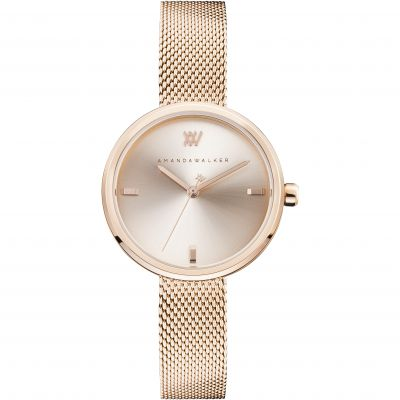 Amanda Walker Rose Watch AW0012SLMH