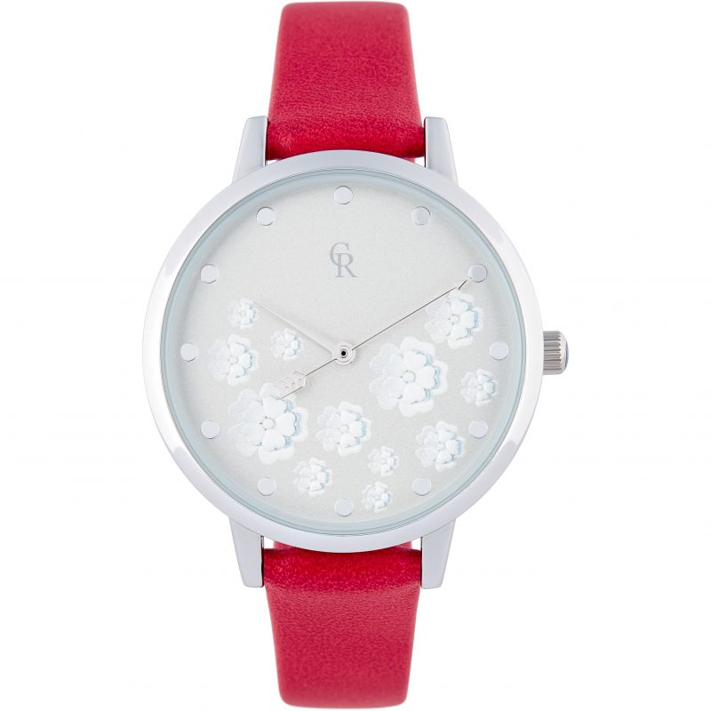 Ladies Charlotte Raffaelli Floral Watch CRW18038