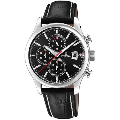 Festina Mens Chrono Watch F20375/3