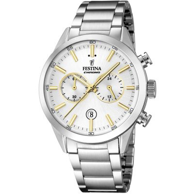 Festina Mens Chrono Watch F16826/D