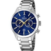 Festina Mens Chrono Watch F16826/E