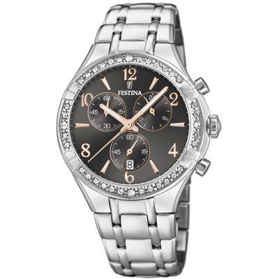 c14dbfe8842 Ladies Festina Chronograph Watch F20392 4