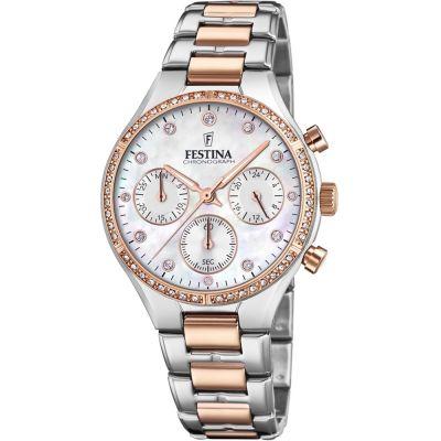 a89c07f5698 Ladies Festina Chronograph Watch F20403 1