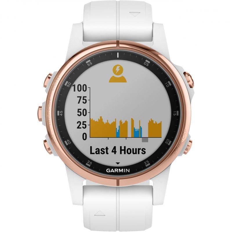 Garmin fenix 5S Plus Sapphire Bluetooth Smartwatch