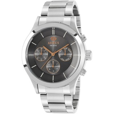 Gents Marea  Steel Multifunction Watch B54149/2